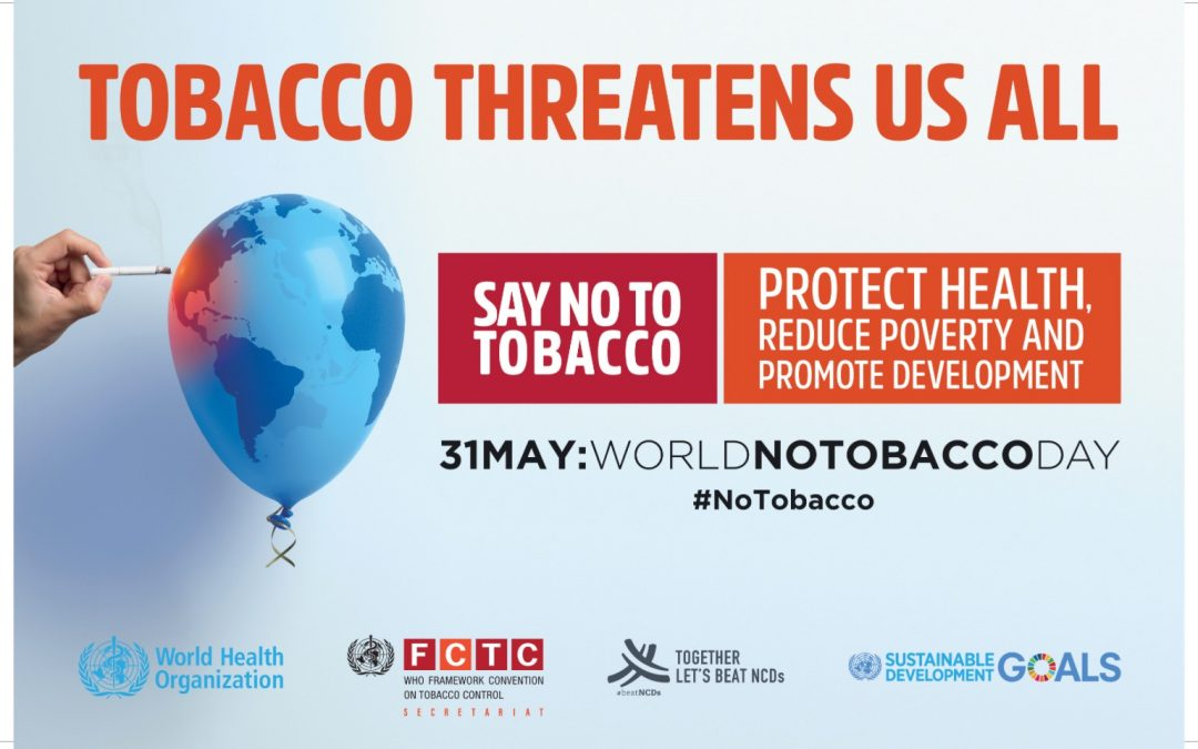31st May, 2017 – World No Tobacco Day